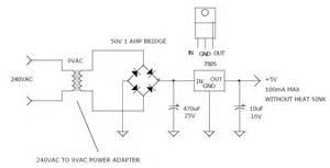audio kit 240 volt ac to 5 volt dc power supply