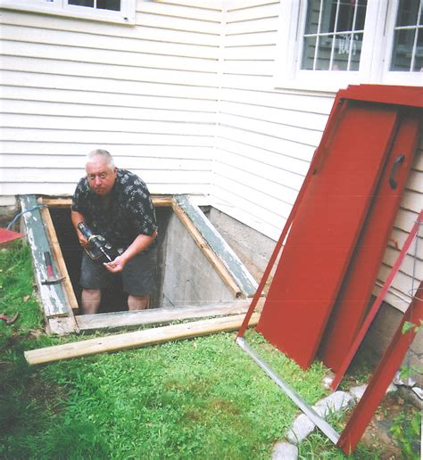 nantucket bulkhead replacement cellar doors new