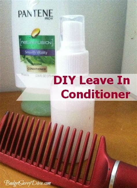 7 Fab Leave In Conditioners by How To Make Your Own Leave In Conditioner Budget Tips