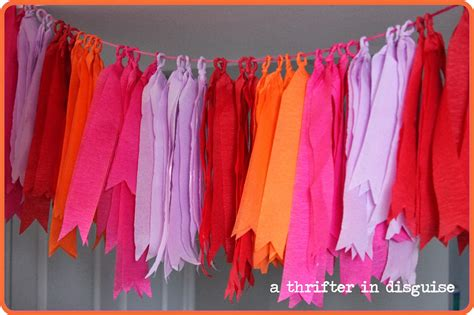 How To Make Crepe Paper Decorations - birthday decoration with crepe paper image inspiration