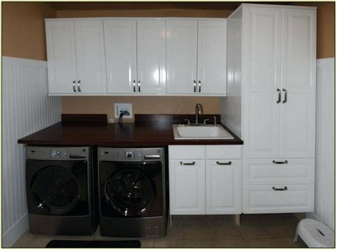 Laundry Room Cabinet Ideas Purplebirdblog Com Laundry Room Sink Base Cabinet