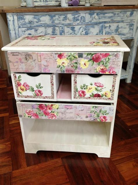 decoupage objects 105 best furniture object decoupage images on