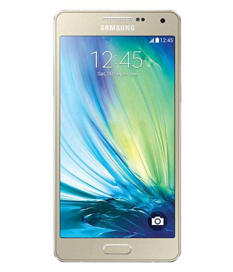 Samsung Galaxy A500g by Samsung Galaxy A5 A500g Gold Mobile Phones At Low Prices Snapdeal India