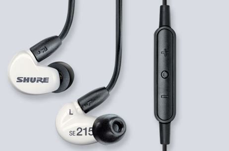 Shure Earphone Se 215 Special Edition Sound Isolating Earphone Blue shure introduces se215m special edition sound isolating earphones press releases shure