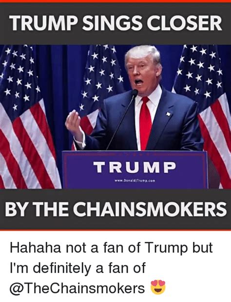 u of m fan trump sings closer k t r u m p wwwdonalditrumpcom by the
