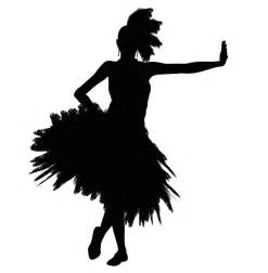 Dancing girl silhouette free stock photo public domain pictures