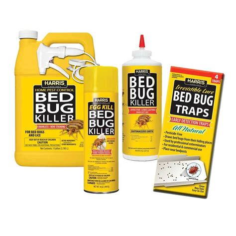bed bug killers harris bbkit lgvp large bed bug kit with bed bug killer