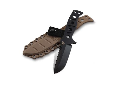 bench made knife benchmade 375 adamas fixed blade tactical knife 4 2 drop