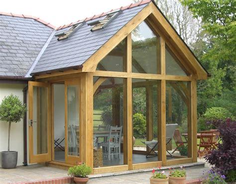 Sun Room Extension Designs Cottage Oak Oak Floors Oak Doors And Oak Framed