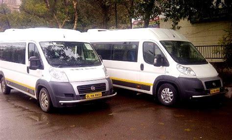 fiat 8 seater 8 seater fiat ducato hire delhi mini rental service