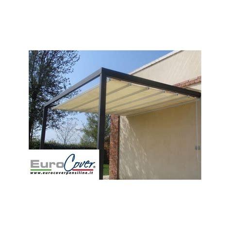 tettoia scorrevole tettoia con tenda scorrevole