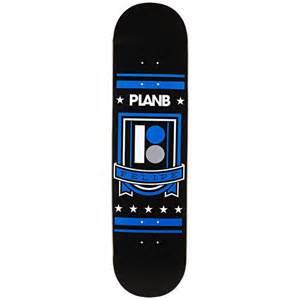 plan b deck plan b black felipe shield skateboard deck 7 75
