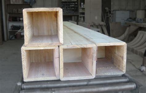 box beam woodland custom beam company schenk wood beam box beam