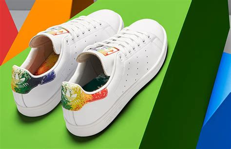 adidas stan smith colors adidas unveils new 2016 lgbt pride collection