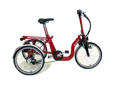 Di Blasis Motorized Folding Tricycle by Di Blasi R34 Folding Tricycle