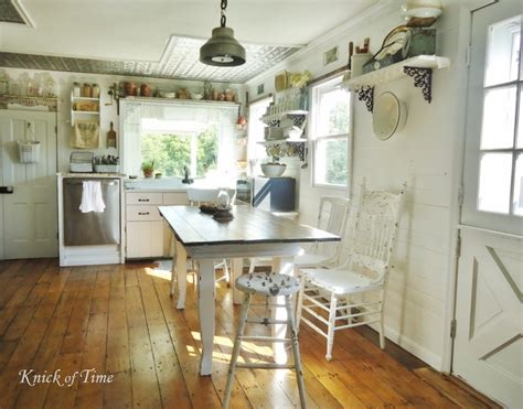 Farmhouse Kitchen Decorating Ideas Oven Range From A Reclaimed Antique Door Knick Of Time