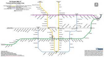Toronto Metro Map by Ttc Fantasy Maps The Intrepid