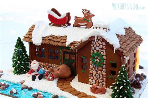 design gingerbread house worth pinning quot up on the rooftop quot gingerbread house