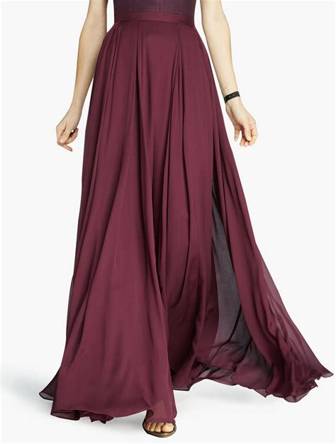 Maxi Flowy flowy maxi skirt dress ala