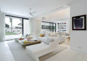 White Interiors Homes Pretty White Living Room Constructions Iroonie