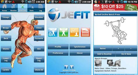 best android workout app best android apps for strength and weight lifting android authority