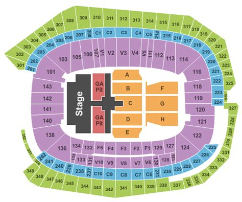 minneapolis armory concert capacity us bank stadium tickets minneapolis mn event tickets