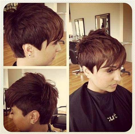 can short pixies be parted opposite growth pattern 32 stylish pixie haircuts for short hair 2015 crazyforus