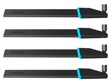 Network Linksys High Gain Antenna Kit 2 Pack Wrt002ant linksys adds wi fi signal boosting antenna packages to wrt portfolio