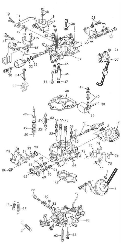 Despiece Carburador Aisan Toyota