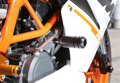 sato racing frame sliders ktm rc390 15 16