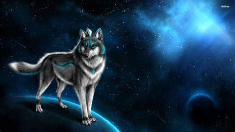 black and white anime wolves 3 background wallpaper fantasy wolf wallpapers wallpaper cave
