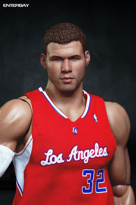 enterbay s sixth scale blake griffin plastic and plush