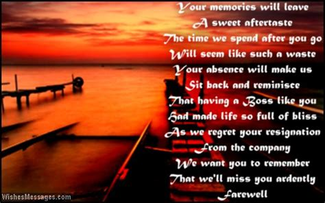 work speech farewell poems for goodbye poems wishesmessages