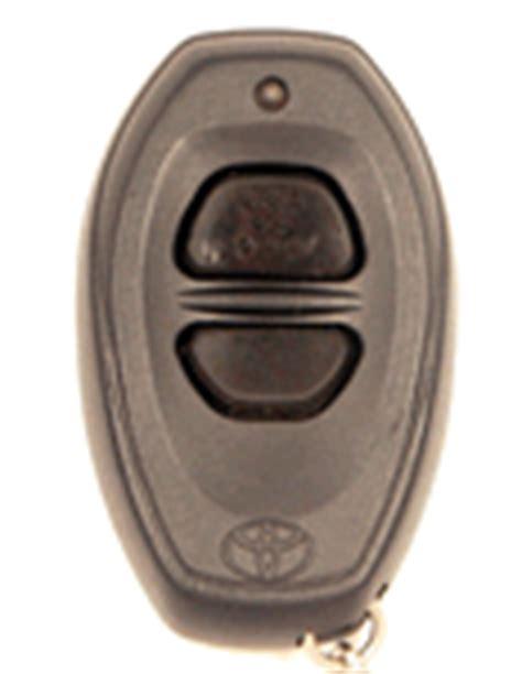 Toyota Tacoma Key Fob Programming Toyota Tacoma Remote Keyless Entry Key Fobs And