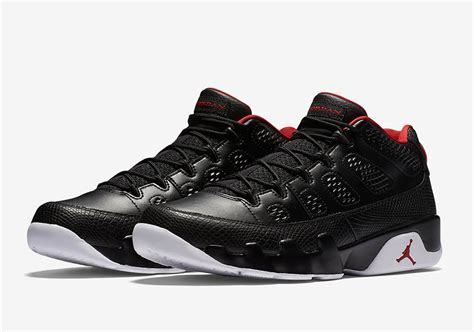 sneaker realeses air 9 low black white release date sneaker bar