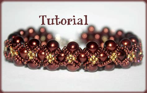 patterns for seed bead bracelets pearls and seed beading pattern pdf bracelet or necklace