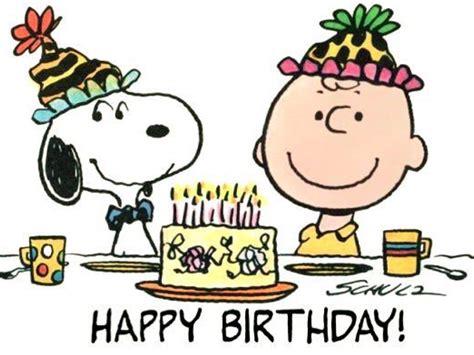 happy birthday images snoopy happy birthday charlie brown peanuts pinterest
