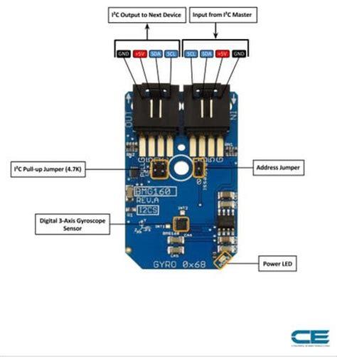 3 Axis Sensor Arduino by Interfacing Of 3 Axis Gyroscope Sensor Bmg160 With Arduino