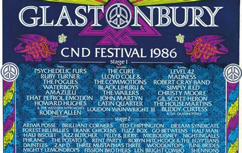 glastonbury festival line ups wikipedia the free every glastonbury poster and line up since 1970 nme