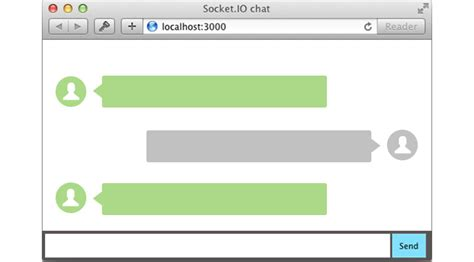 simple node js chat server using expoforum center com and websockets to build a chat