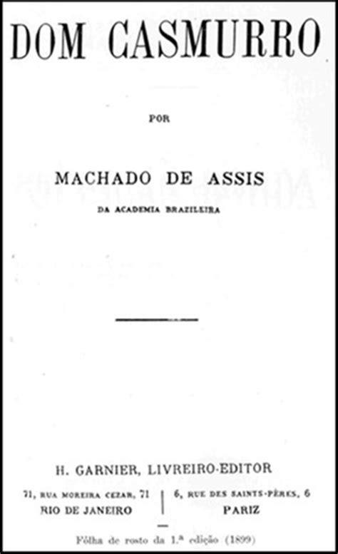 Dom Casmurro | Resumos de livros | Literatura | Educação