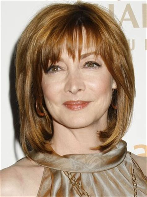 celebrities with back cowlick sharon lawrence haircuts hair styles pictures of