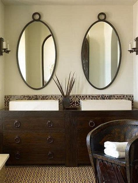 Oval Mirror Bathroom Oval Shaped Bathroom Mirrors Best Decor Things