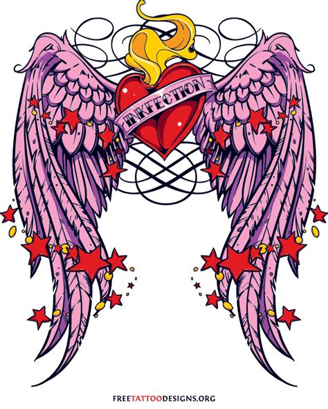heart with wings tattoo designs 55 tattoos and sacred designs