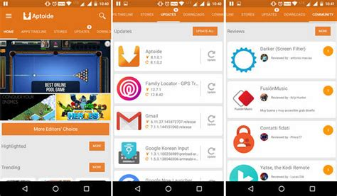 aptoide google play store 10 best google play store alternatives stugon