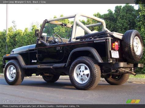 1990 jeep wrangler interior 1990 jeep wrangler black 200 interior and exterior images