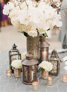Silver Mercury Vase Ten Unique Rustic Wedding Centerpieces Something
