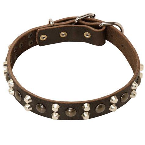 collars for rottweilers designer studded leather collar for rottweiler rottweiler store
