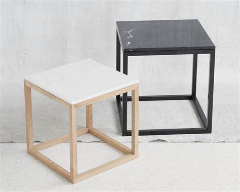 cube table de nuit table basse table de nuit en ch 234 ne cube table black oak
