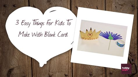 things to make with cards 3 easy things to make with card hobbycraft